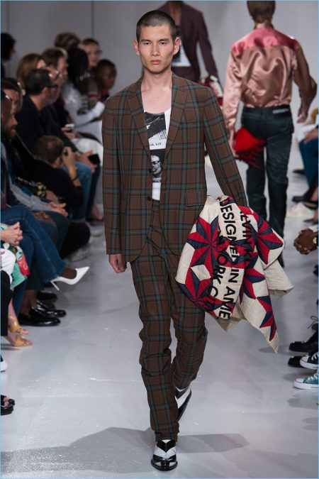e81fcd5c5b Raf Simons Continues Americana Theme for Calvin Klein Spring  18 Collection