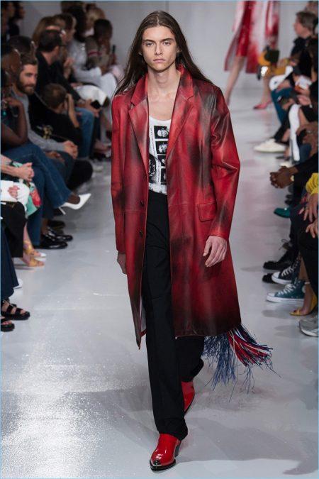 Calvin Klein Spring/Summer 2018 Runway Show during New York Fashion Week Men's
