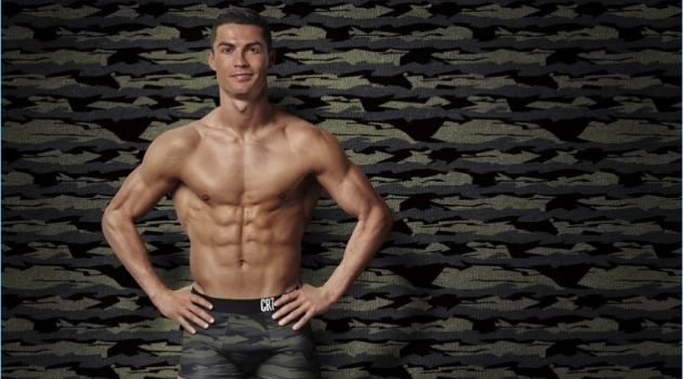 Cristiano Ronaldo stars in CR7 Underwear's fall-winter 2017 campaign.