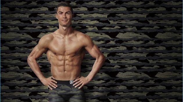 Cristiano Ronaldo stars in CR7 Underwear's fall-winter 2017 campaign.