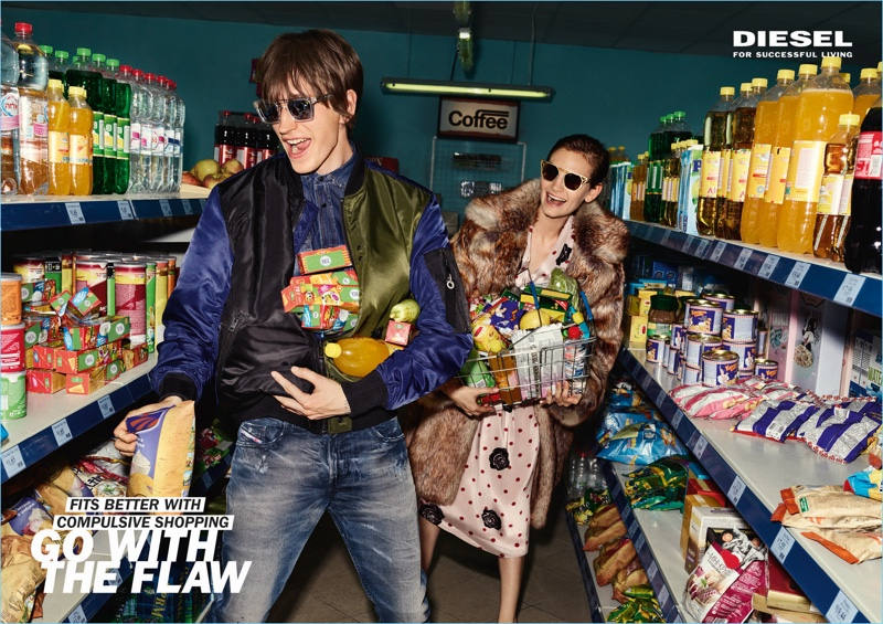 Diesel unveils its fall-winter 2017 advertising campaign.
