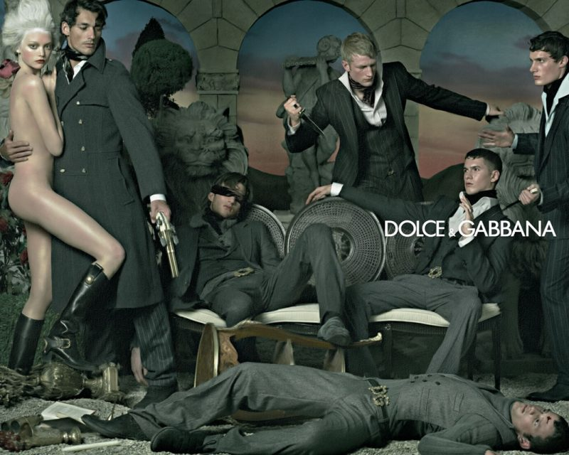 Dolce & Gabbana Fall/Winter 2006 Campaign