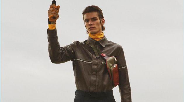Back to Earth: Elias de Poot Stars in Vogue Man Ukraine Cover Shoot