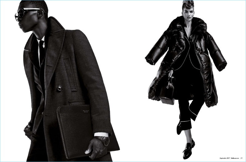 Fernando Cabral Dons Black Fashions for Influencers Cover Shoot