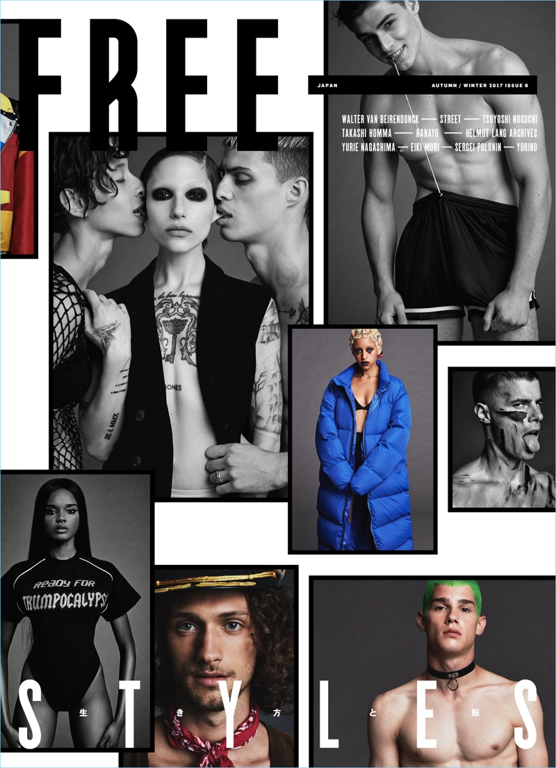 Nicola Formichetti photographs the latest cover of Free magazine.