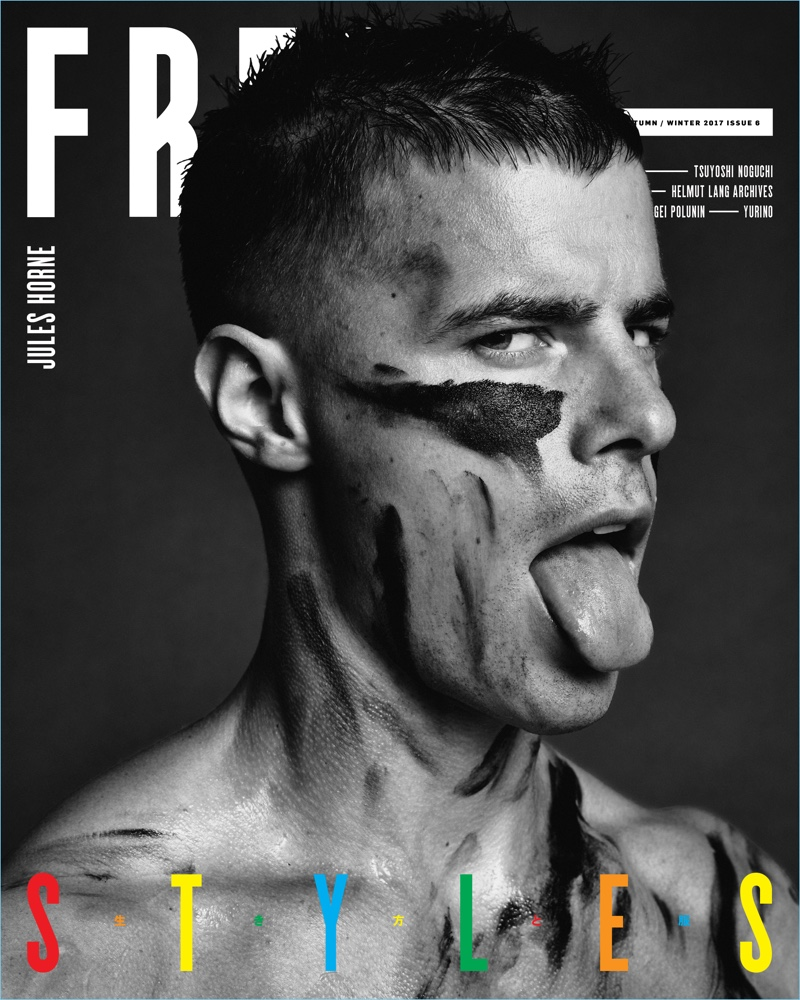 Jules Horn covers Free magazine.