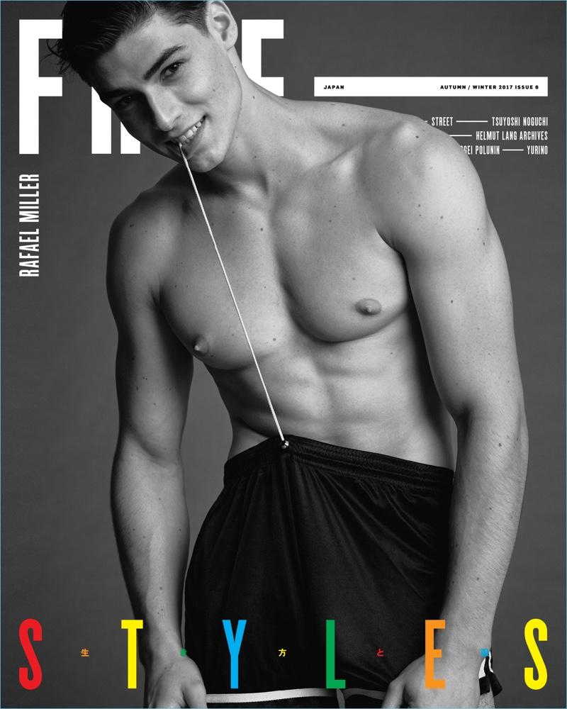 Rafael Miller covers Free magazine.