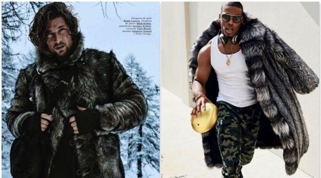 A Bold Statement in Fur: Fashion Shoots