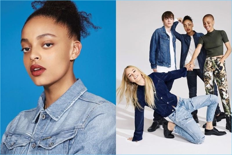 Lennon Gallagher joins the cast of G-Star's fall-winter 2017 campaign.