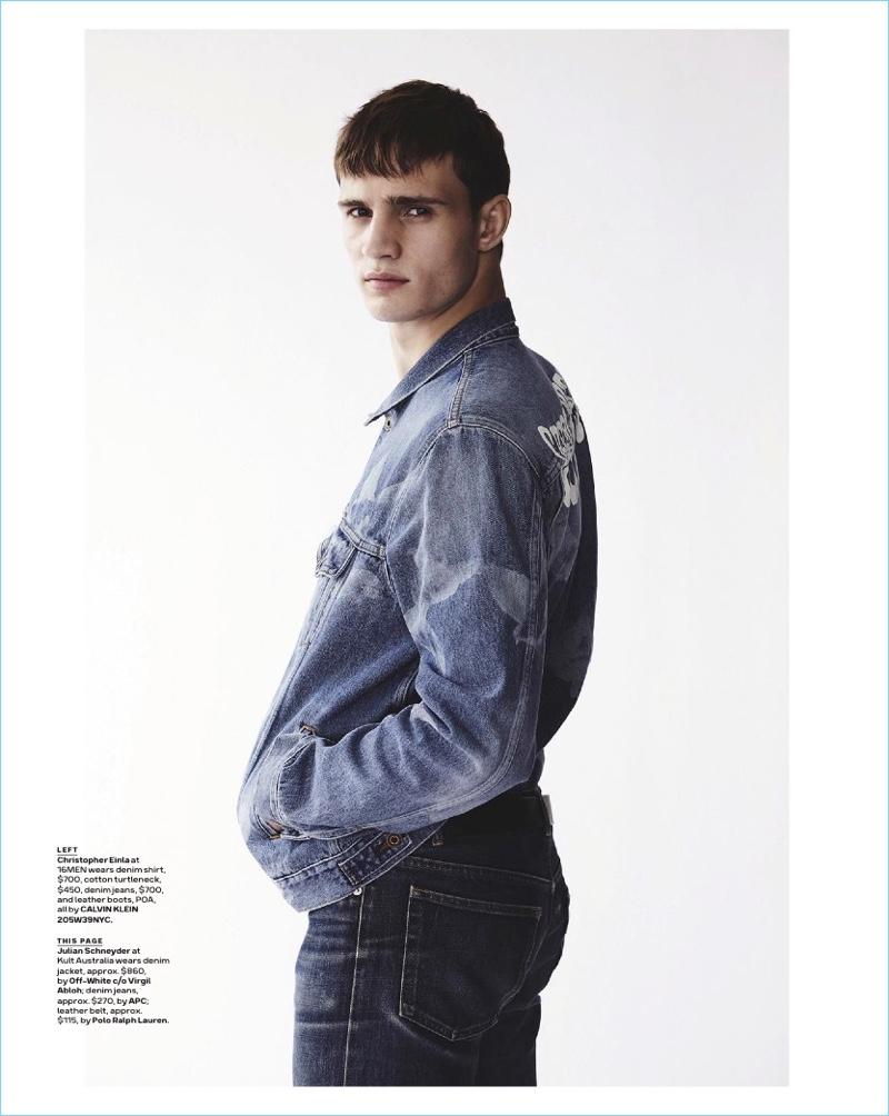 04780777ba Good Jeans  Julian Schneyder + More Model Denim for GQ Australia ...