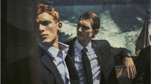 Guy Aroch Photographs Redhead Models for GQ Italia