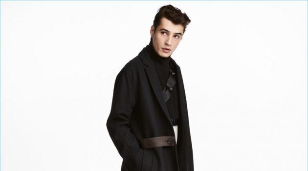 H&M Studio Long Wool-Blend Coat