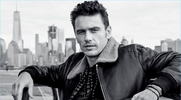 James Franco stars in Coach's fragrance campaign.