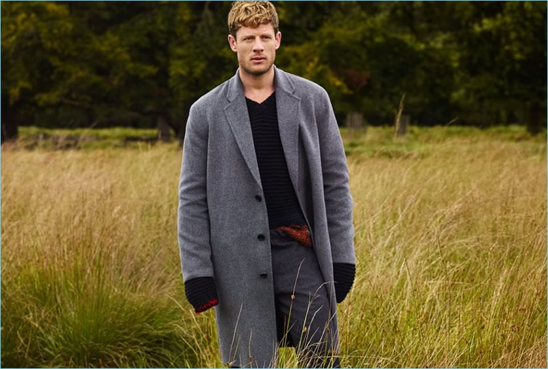 James Norton Dons Fall Styles for Mr Porter 7a48fe854
