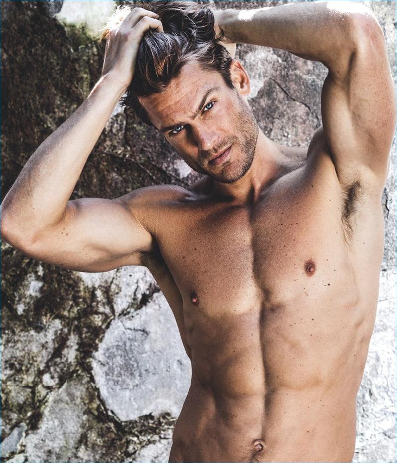 Jason Morgan photographed for Men's Health Romania.
