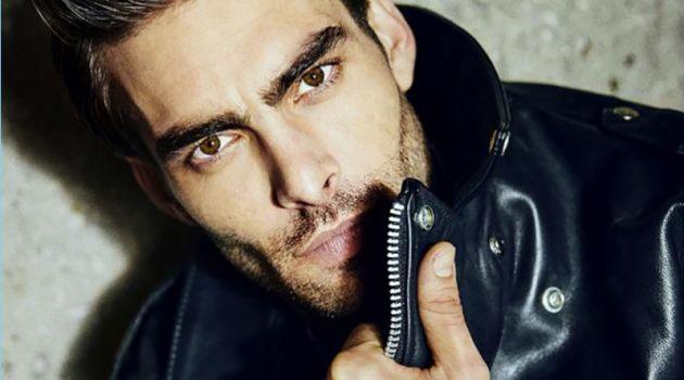 One of BVLGARI's brand ambassadors, Jon Kortajarena poses for a striking image.