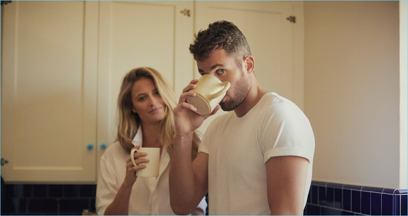 Banana Republic features Kevin Love and girlfriend Kate Bock in new campaign.