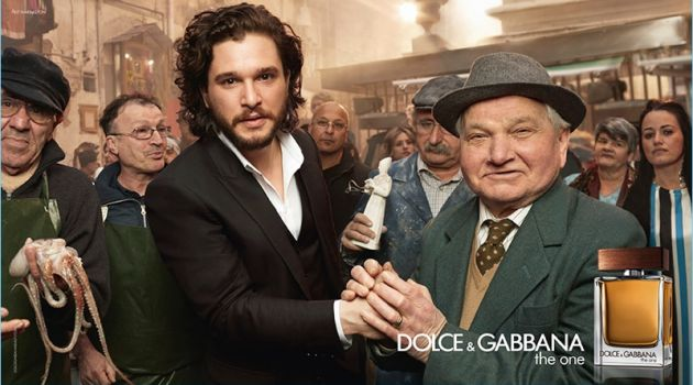 Kit Harington stars in Dolce & Gabbana's new fragrance campaign for The One.