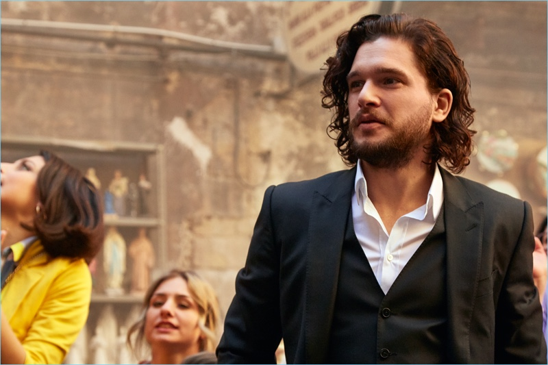 Game of Thrones star Kit Harington connects with Dolce & Gabbana for its The One fragrance campaign.