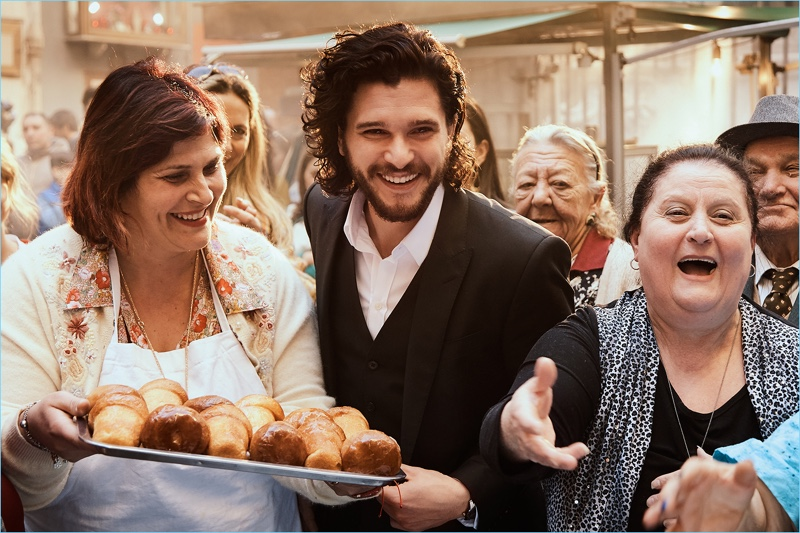 Behind the Scenes: Kit Harington for Dolce & Gabbana The One.