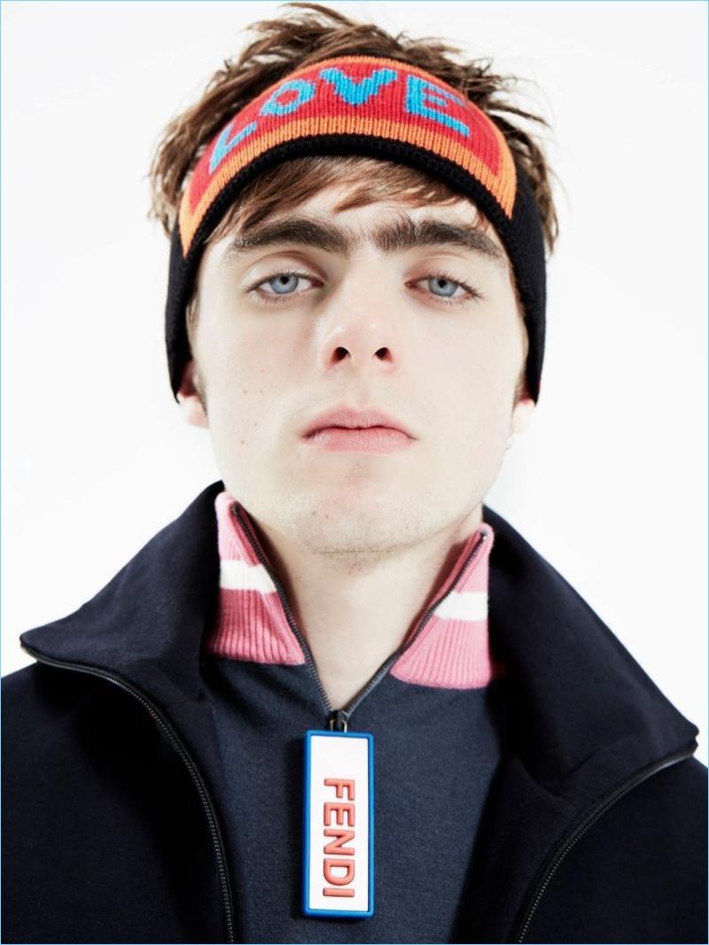 Lennon Gallagher Rocks Fendi for Hunter Cover Shoot