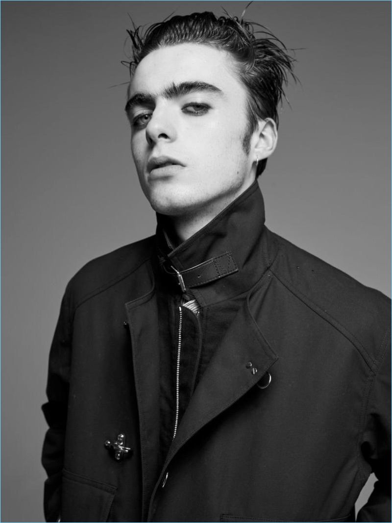 lennon gallagher rocks fendi for hunter cover shoot page
