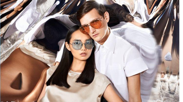 93434aaea5e Yannick Abrath   Ling Ling Couple Up for Linda Farrow Fall  17 Campaign