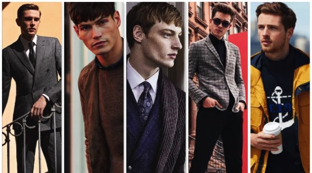 Fall-Winter 2017 Advertising from Canali, Lexington, Lardini, Vince Camuto, and Nautica