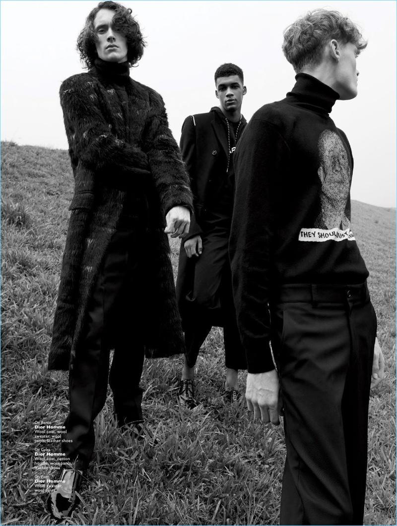 Backstreet Boys: Men's Folio Singapore Spotlights Fall '17 Collections