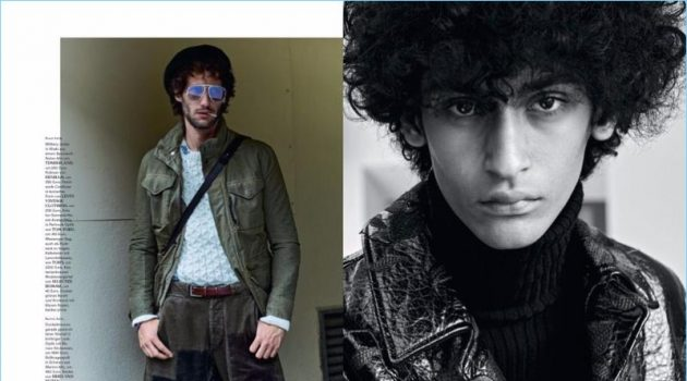 Men's Health Best Fashion Goes Retro for Fall Editorial