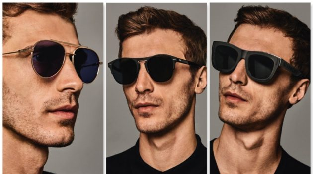 See. Be Seen: Clément Chabernaud Dons Designer Shades for Holt Renfrew
