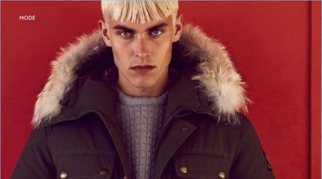 At the Top: Otto Seppalainen for InStyle Men Germany