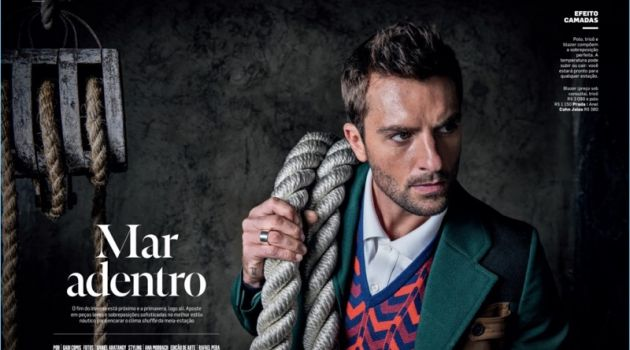 Out in the Open: Rafael Lazzini Channels Nautical Style for VIP Brasil