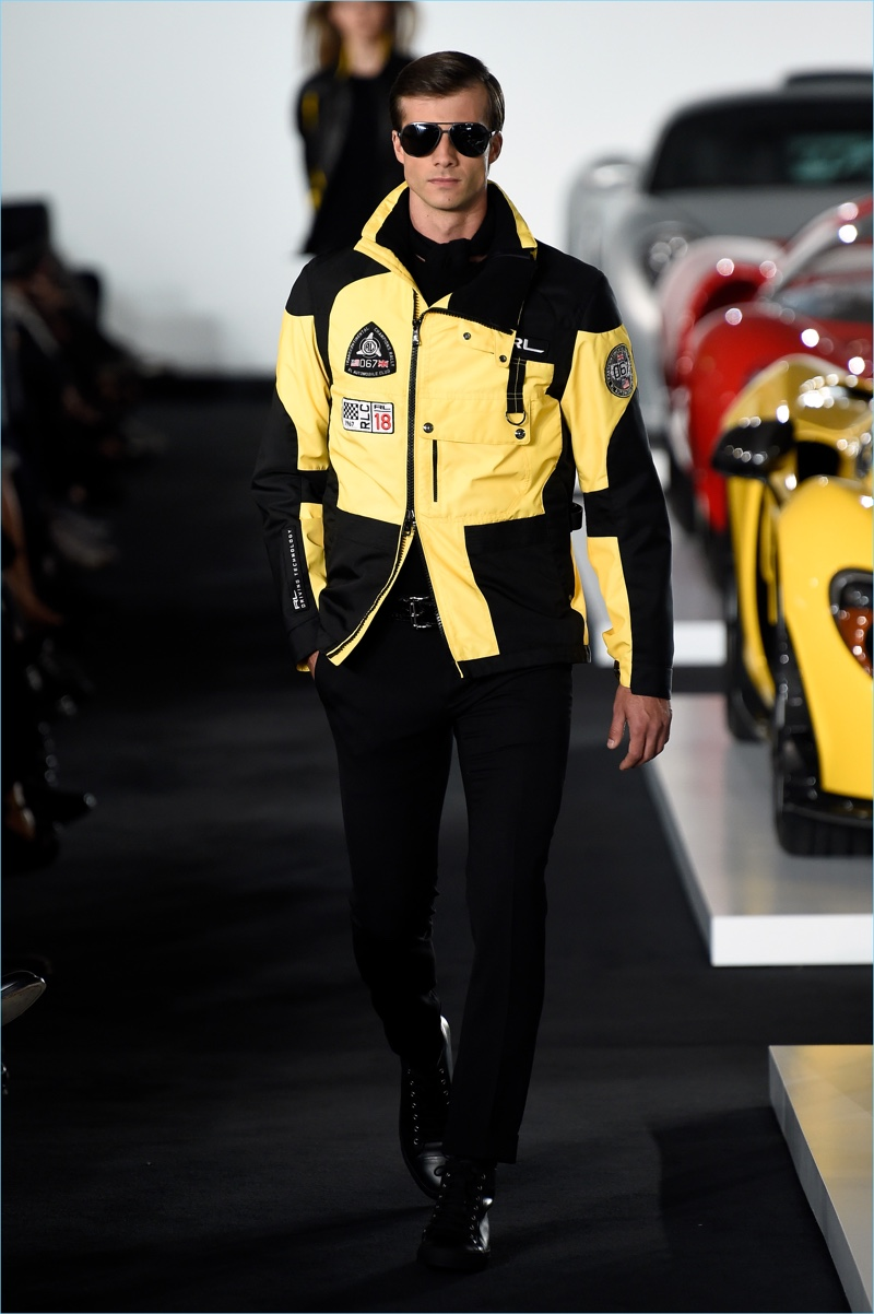 e9234817d0d Ralph Lauren Gears Up for the Race with Fall  17 Collection