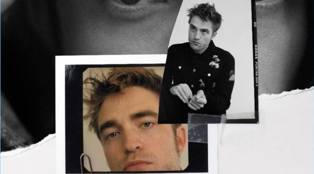 Robert Pattinson covers Le Monde M magazine.
