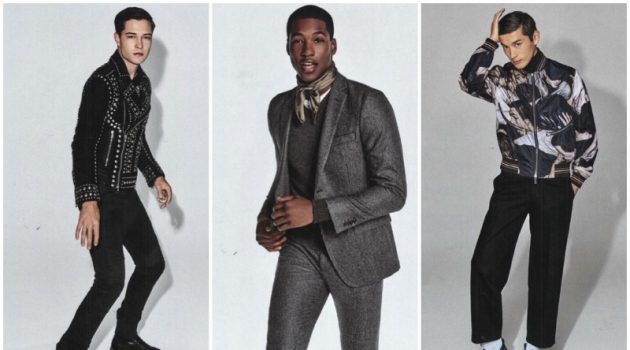 Fall Starts: Saks Highlights Designer Fashions with New Advertorial