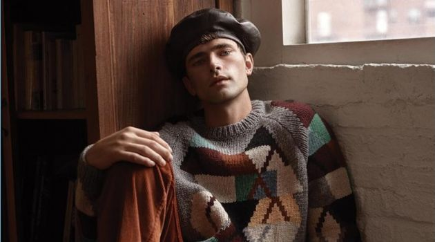 Sean O'Pry Dons Prada + More for GQ Style Taiwan