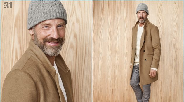 Simons enlists Rainer Andreesen for a fall style edit that features earthy hues.