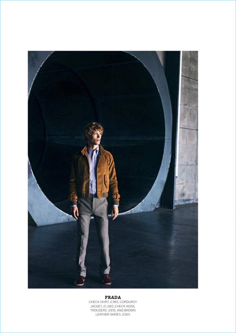 Last Man Standing Sven De Vries For The Sunday Times Style