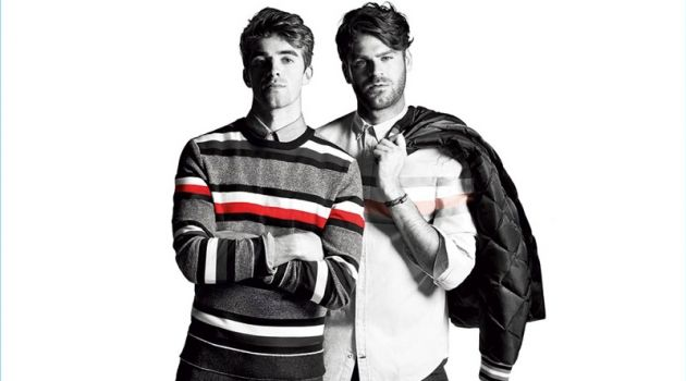 Tommy Hilfiger enlists The Chainsmokers as the stars of its fall-winter 2017 campaign.