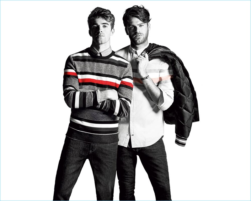 The Chainsmokers Tommy Hilfiger FallWinter 2017 Campaign