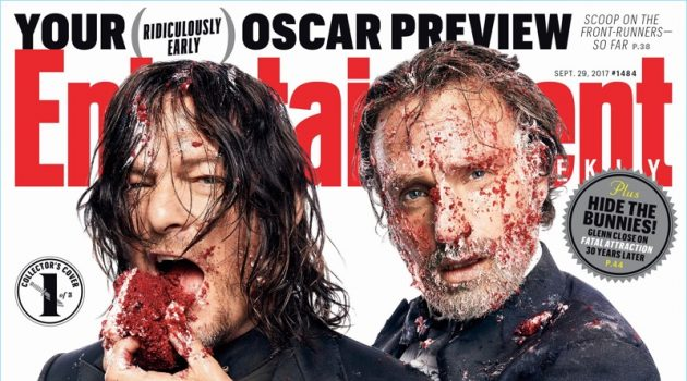 Norman Reedus and Andrew Lincoln cover Entertainment Weekly.