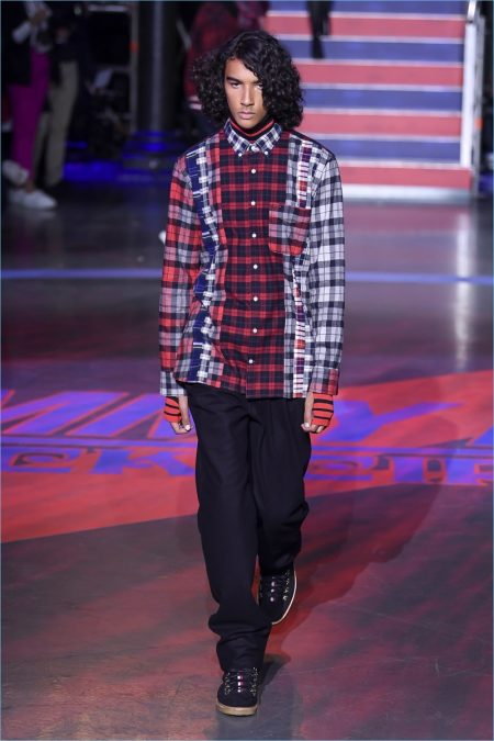 Tommy Hilfiger Rocks the 90s for Fall '17 London Outing