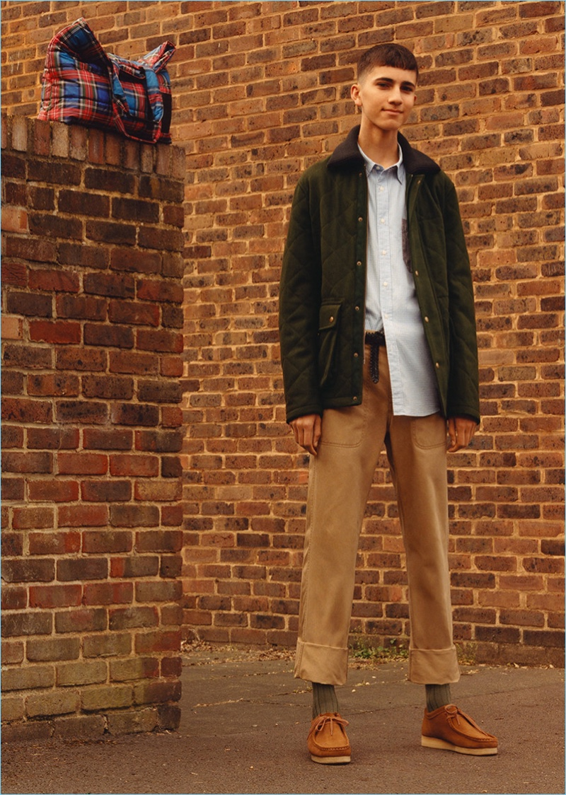 Lean proportions lend J.W. Anderson's UNIQLO collection a smart character.