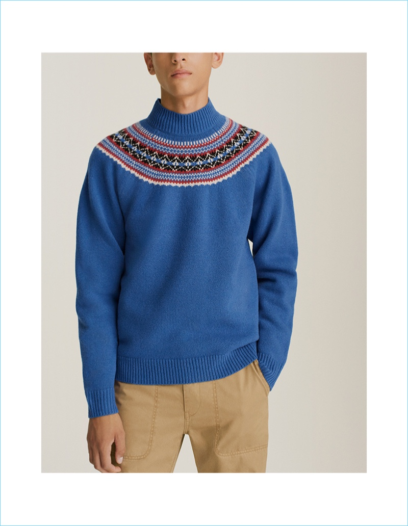 JWA Fair Isle Crew Sweater