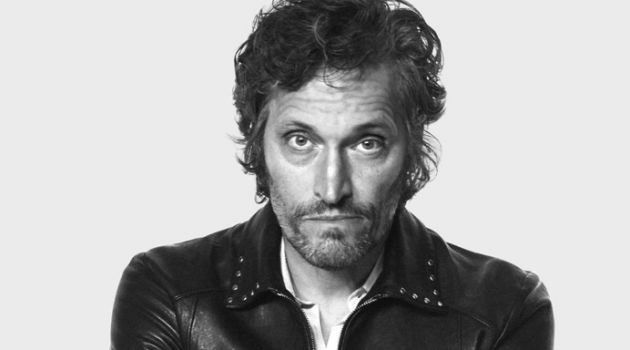 Rocking a leather jacket, Vincent Gallo stars in Saint Laurent's spring-summer 2018 campaign.