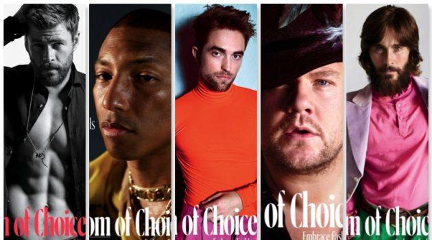 The New Royals: Chris Hemsworth, Robert Pattinson + More Cover W Magazine