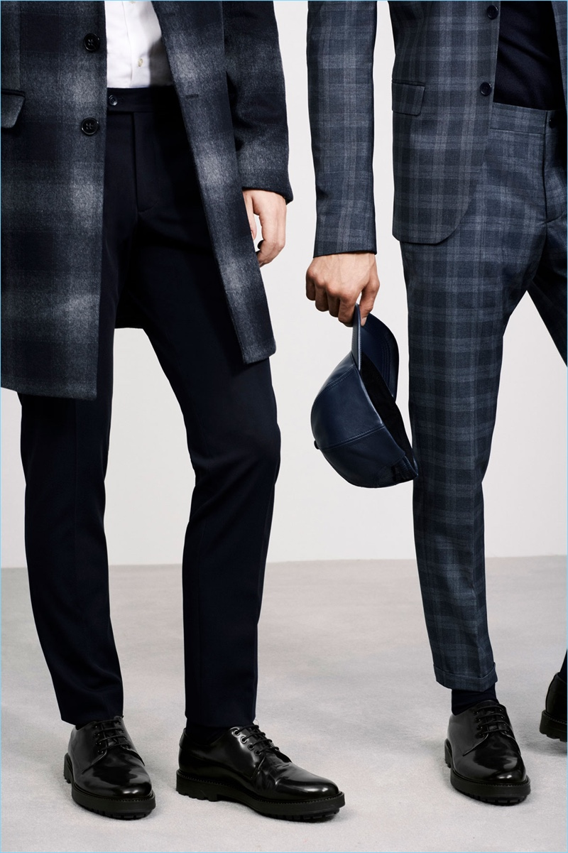 Sartorial checks are front and center for Zara Man's new style editorial.