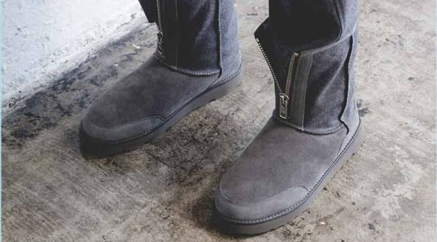 Update your winter style with 3.1 Phillip Lim's UGG PL Classic Short Zip boots $300 in flannel grey.