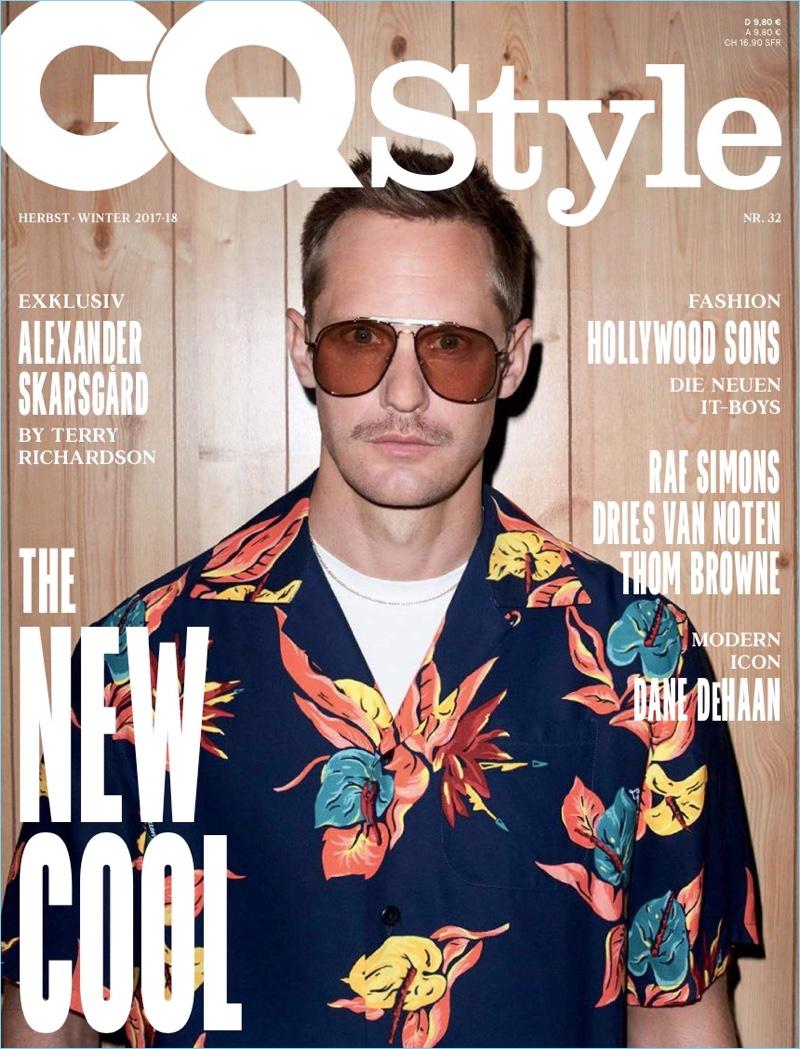Alexander Skarsgård GQ Style Germany Fall/Winter 2017 Cover